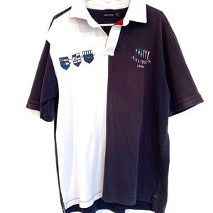 NAUTICA men's polo golf shirt